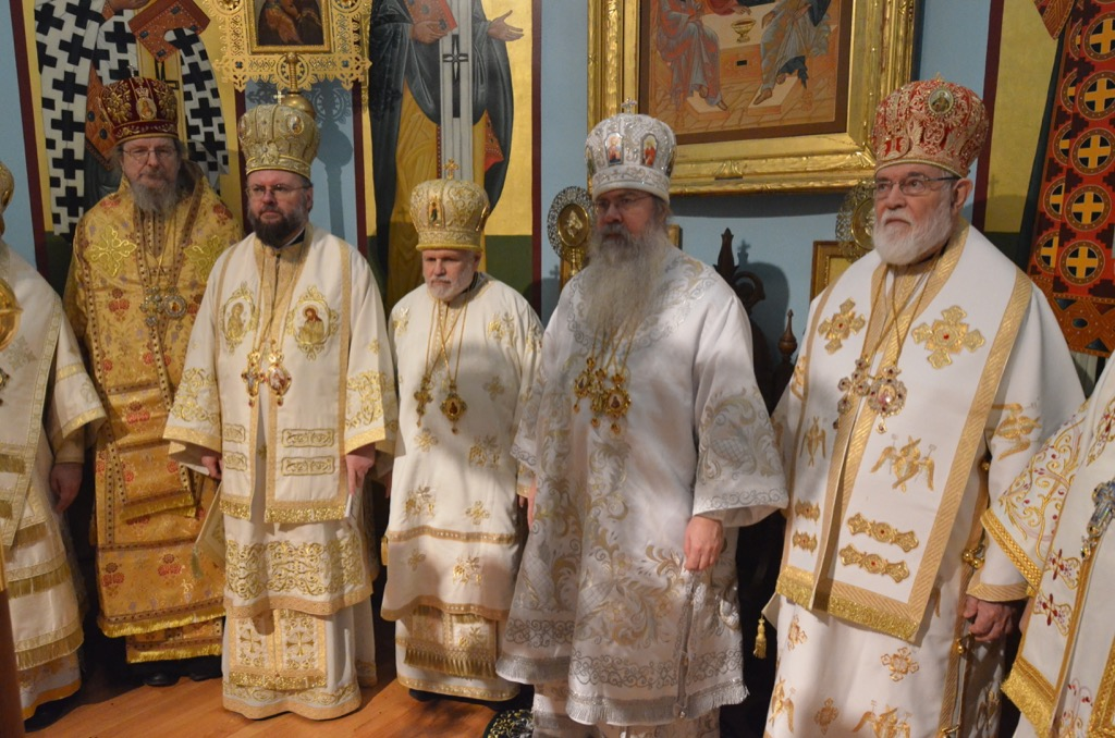 United States of America: OCA Prelates seen during he Episcopal Consecration of Bishop Paul of Chicago and the Midwest on December 27th 2014