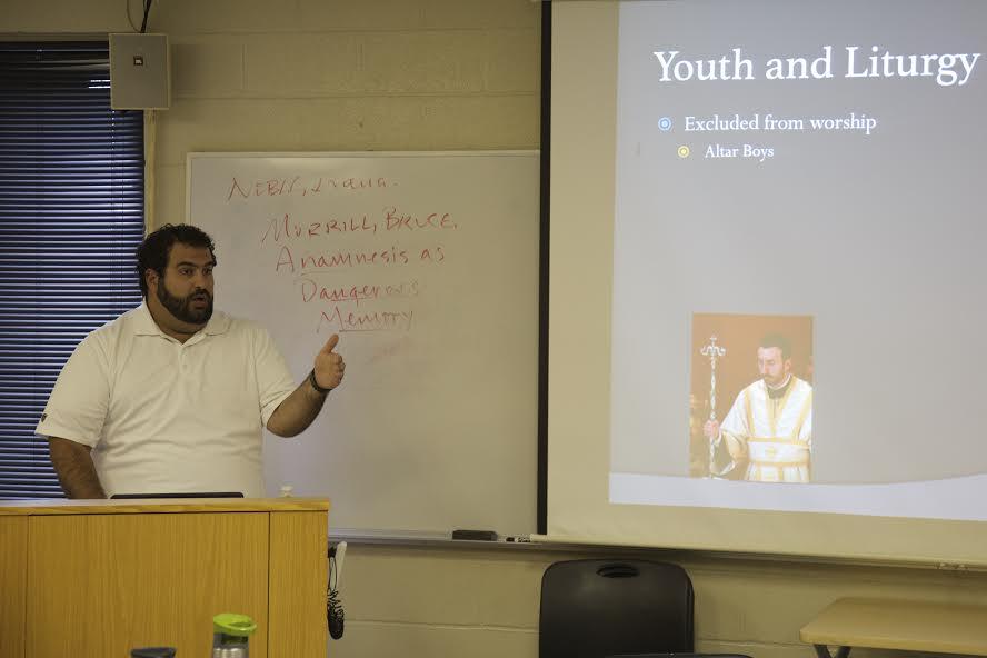 Gregory Abdalah shares his parish experience with 2017 D.Min. Cohort.