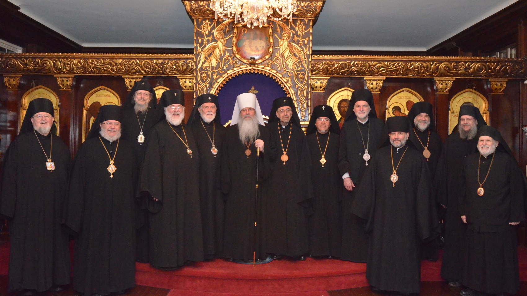 Members of the Holy Synod of Bishops of The Orthodox Church in America