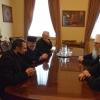 Metropolitan Tikhon, Fr. Kishkovsky meet with Armenian Supreme Catholicos Karekin II