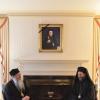 Metropolitan Tikhon guest of Metropolitan Silouan at Antiochian Archdiocesan headquarters