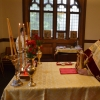 Metropolitan Tikhon, Bishop Michael lead Princeton chapel, OCF celebration