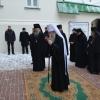 Metropolitan Tikhon visits Trinity-St. Sergius Lavra