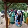 Metropolitan Tikhon presides at Spruce Island pilgrimage Liturgy