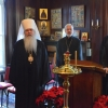 Delegation from Church of Ukraine visits OCA Chancery