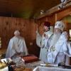 Metropolitan Tikhon visits Holy Myrrhbearers Monastery