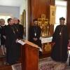 Metropolitan Tikhon hosts Metropolitan Nicholovos at OCA Chancery