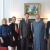 Russian government officials visit OCA Archives