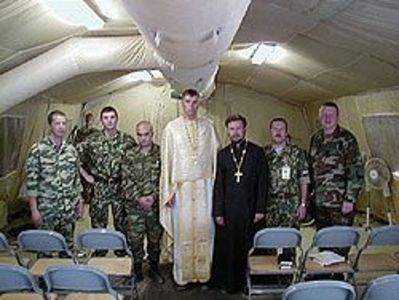 Hierarchs react to war; Chapla