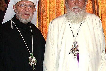 Romanian Patriarch Teoctist, M