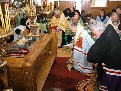 Metropolitan Herman visits Dio