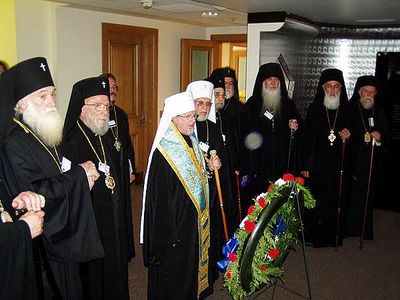Holy Synod honors 9/11 victims