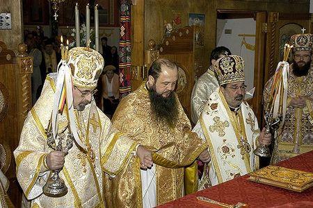 Archimandrite Irineu consecrat