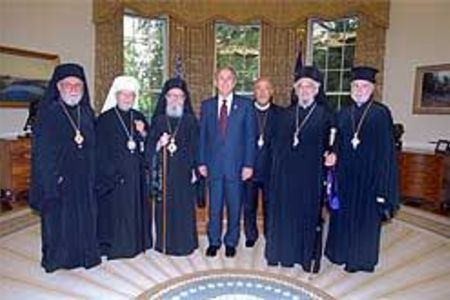 Orthodox hierarchs meet with U