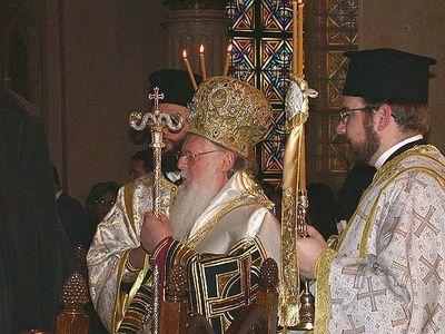 Metropolitan Theodosius greets