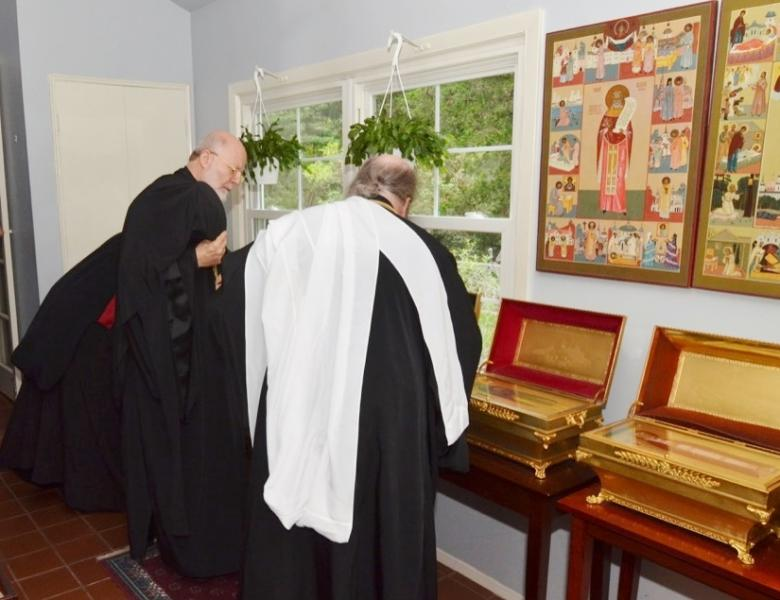 Antiochian Metropolitan Joseph welcomed at OCA Chancery - Orthodox