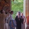 Metropolitan Tikhon welcomes Metropolitan Hilarion [Alfeyev] at DC's St. Nicholas Cathedral