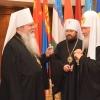 Metropolitan Tikhon and OCA delegation in Moscow
