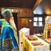 Metropolitan Tikhon visits Our Lady of Kazan Church, Sea Cliff, NY