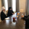 19th AAC Highlights:  Metropolitan Tikhon meets with Metropolitan Nathanael