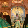 Metropolitan Tikhon celebrates at seminaries, Washington Archdiocesan parishes