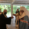His Beatitude Serves the One Year Memorial for His Eminence Archbishop Nikon in the Connecticut Deanery