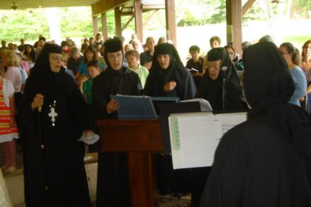 Liturgy nuns choir