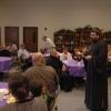 Priest Sergius Halvorsen speaks, leads deanery clergy retreat