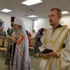 Metropolitan Tikhon continues his visit to Fort Bliss on Palm Sunday