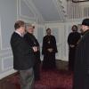 Metropolitan Philip of Poltava and Mirgorod visits OCA Chancery