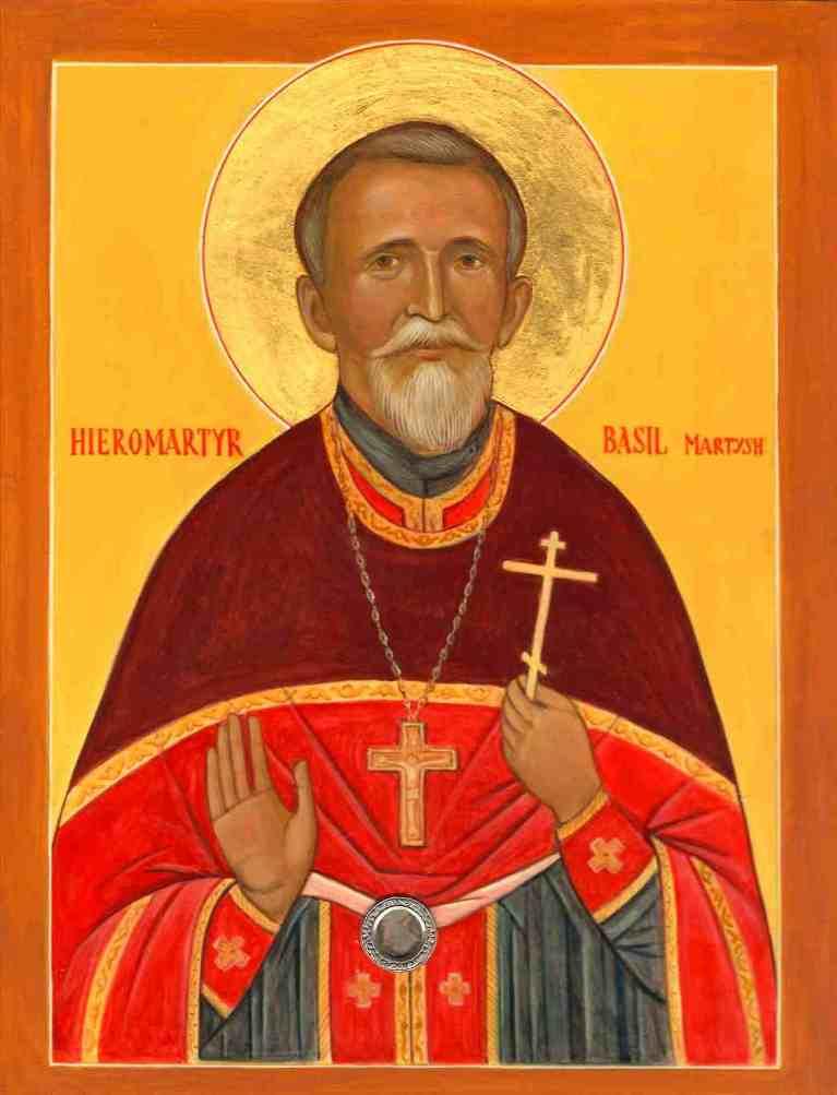 New Martyr Archpriest Vasily Martysz