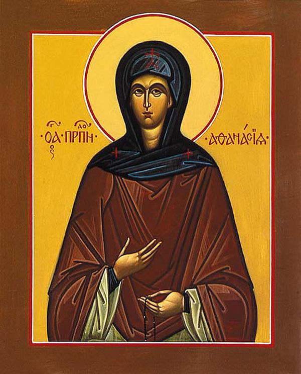 Venerable Athanasia, Abbess of Aegina - Orthodox Church in America