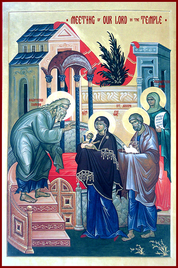 The Meeting of our Lord and Savior Jesus Christ in the Temple - Orthodox  Church in America