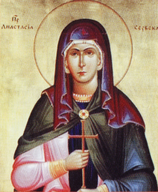 IMG ST. ANASTASIA of Serbia, Mother of Saint Sava of Serbia