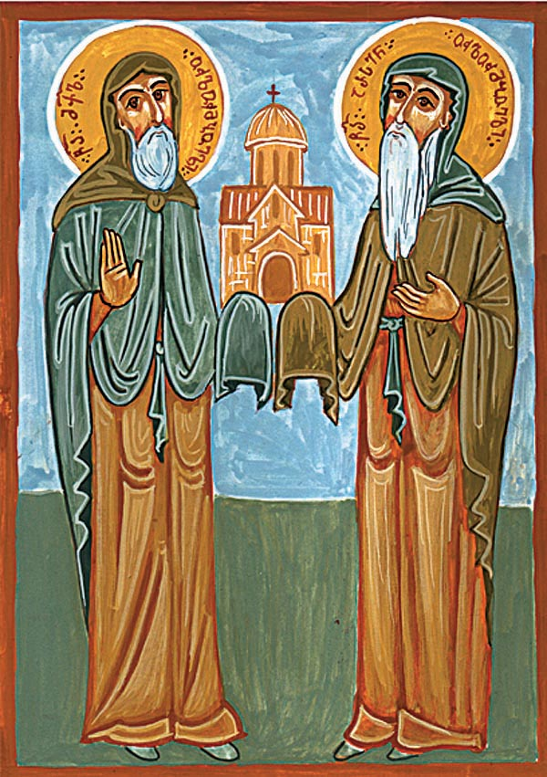 Saints Michael and Arsenius of Ulompo, Georgia