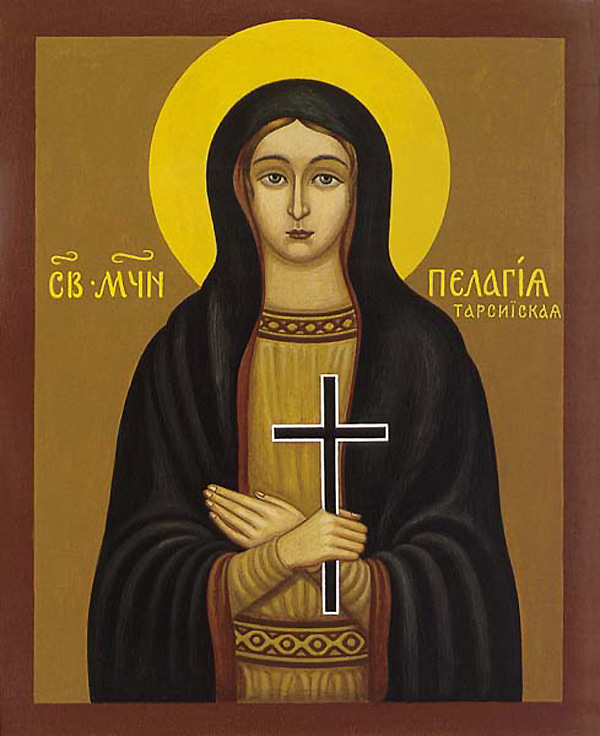 Virgin Martyr Pelagia of Tarsus, in Asia Minor
