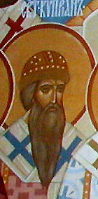 Translation of the relics of Saints Cyprian, Photius, and Jonah,  Metropolitans of Moscow and All Russia