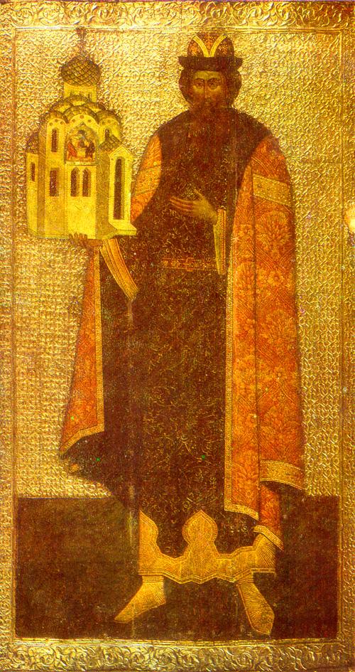 Uncovering of the relics of Saint Vsévolod (Gabriel) of Pskov
