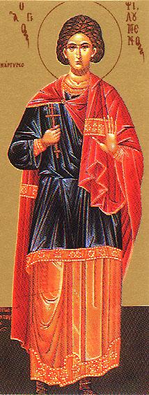 sveti Filomen - mučenec