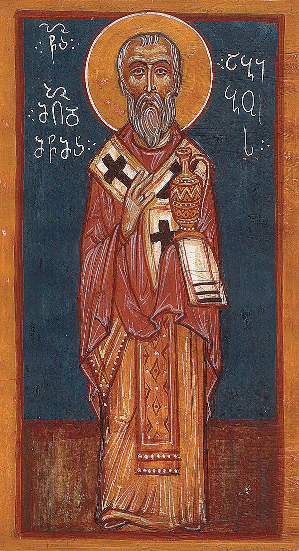 Hieromartyr Abibus, Bishop of Nekresi in Georgia