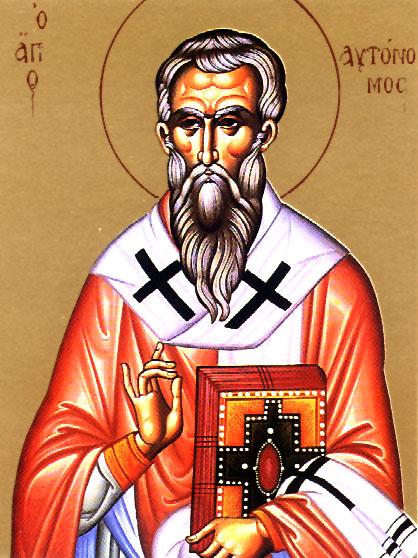 Hieromartyr Autonomus, Bishop in Italy