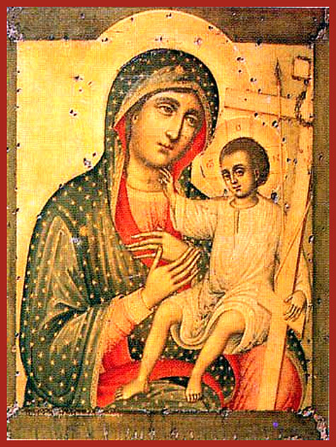 Icon of the Mother of God of Novonikḗta
