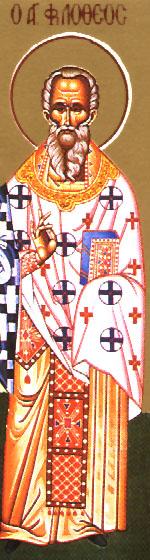 Saint Philotheus the Presbyter in Asia Minor