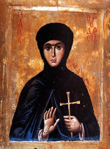 IMG ST. THEODOSIA, Virginmartyr ,the Nun of Constantinople
