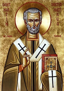 Αποτέλεσμα εικόνας για saint martin of tours orthodox