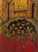 Empress Augusta, Porphyrius the General, the 50 philosophers and the 200 Soldiers martyred with the Great Martyr Catherine