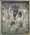 "Weeping Icon of the Mother of God ""ILYIN CHERNIGOV"""