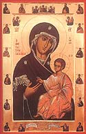 Appearance of the Iberian (Iveron) Icon of the Mother of God