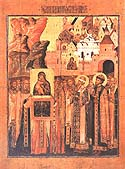 Meeting of the Vladimir Icon of the Mother of God in memory of Saving of Moscow from the Invasion of Khan Achmed