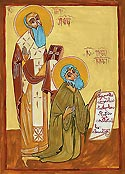 Saint John Shavteli, ishop of Gaenati and Saint Eulogius, Prophet and Fool-for-Christ of Salosi